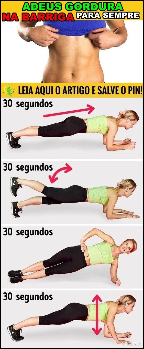 Como Perder Toda Gordura Da Barriga Em 1 Mes Exercicio Para