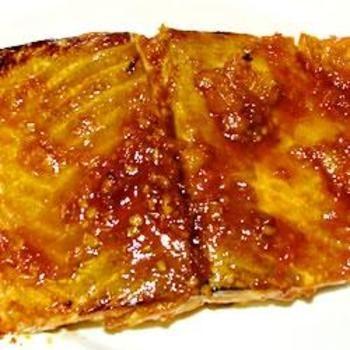 Sweet 'n' Hot Glazed Salmon