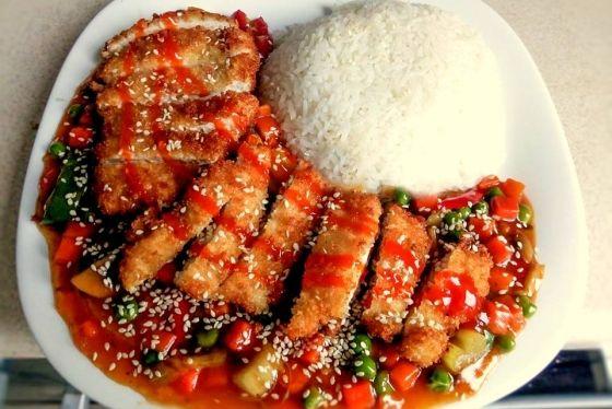 Kurczak Z Warzywami W Panko Chinskie Przepisy Orientalny Serwis Recipes Food Pork