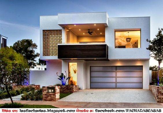 Como arreglar la fachada de una casa pequena casas for Como disenar una casa pequena