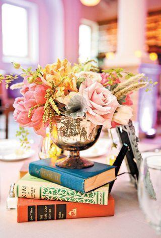 ♔ livres-fleurs