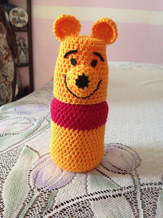 Biberón a crochet