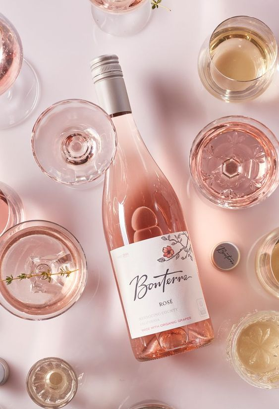 Dreaming of sun kissed Spring afternoons, backyard barbeques, and Rosé Wines from Bonterra Organic Vineyards.
