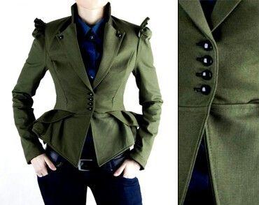 Unique women's jacket