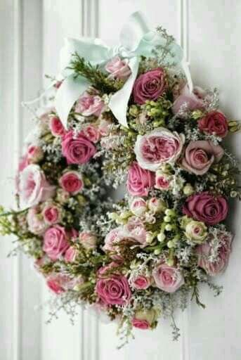 Guirlandas Florais por #casadacris