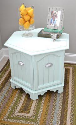 Love this coffee table refurb