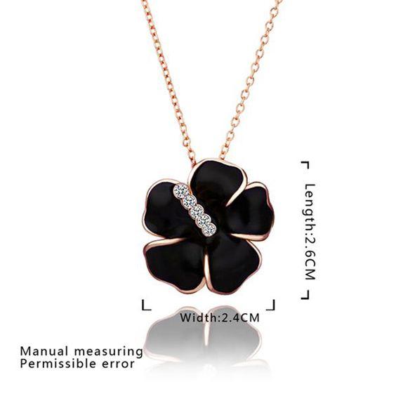 290ab0f67fe2 Ожерелья 18 К золото красивые ожерелья 18 К позолоченные 2016 популярные женские  украшения оптовая продажа цены