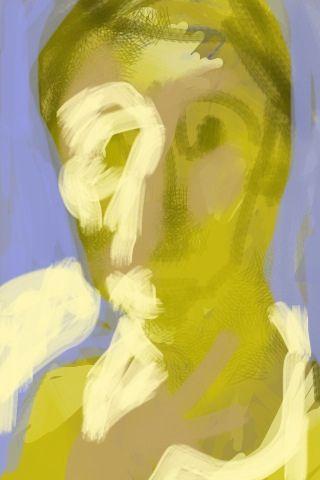 iphone portrait - Unfinished portrait - Manuel San-Payo