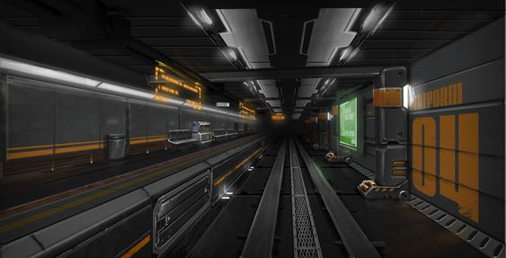 Subway station polycount forum sci fi background for 11547 sunshine terrace
