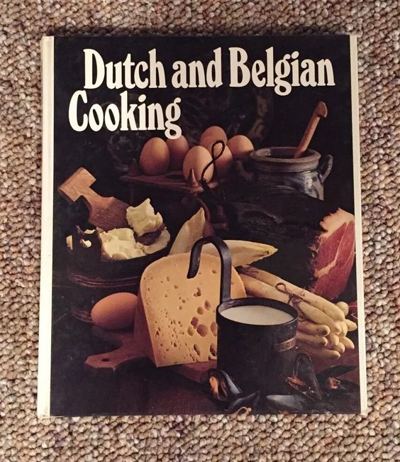 'Round the World Library ~ DUTCH & BELGIAN COOKING 1971 HB Cookbook in Books, Cookbooks   eBay