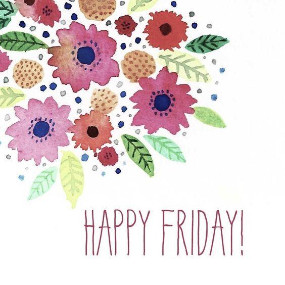 Happy Friday Everyone!: