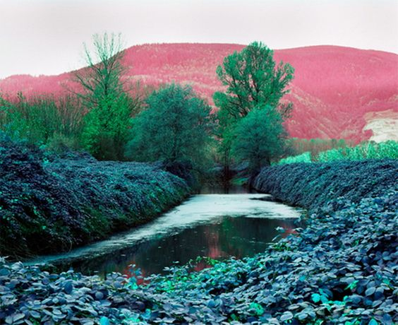 Scan with one byte modified by Jessica Eaton: 500X408 Pixels, Eaton Landscape, Favorite Places, Photo Jessica, Jessica Eaton, Image 500X408, Flakphoto Landscapes