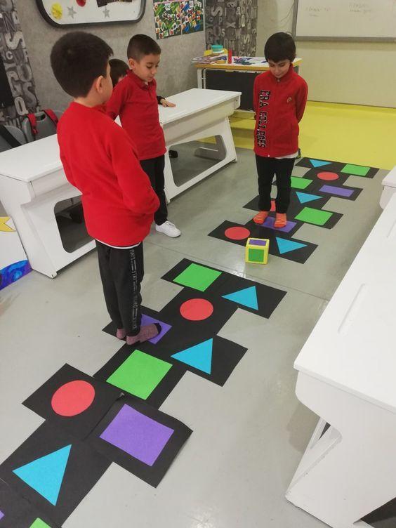 A9078e8653368c9c291ae2f8b74012e7 Juegos De Formas Actividades Ludicas Para Niños Actividades Para Preescolar