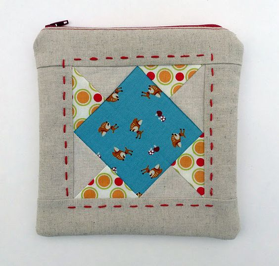 adorable pouch by @AnneMarie Chany