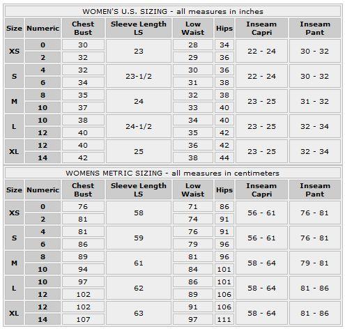 Size Chart Size Chart Fashion Sewing Shoe Size Chart