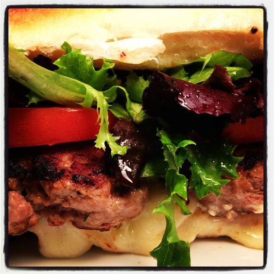 I am obsessed with turkey burgers...