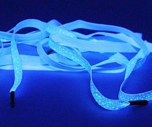 Glow In The Dark Galaxy Shoelaces