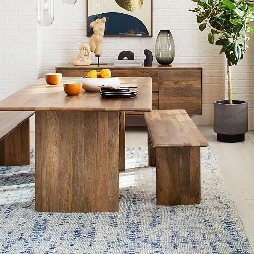 Anton Solid Wood Dining Table West Elm Diningtable Dining