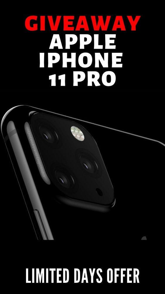Free Iphone 11 Giveaway 2020 In 2020 Free Iphone Get Free Iphone Iphone 11