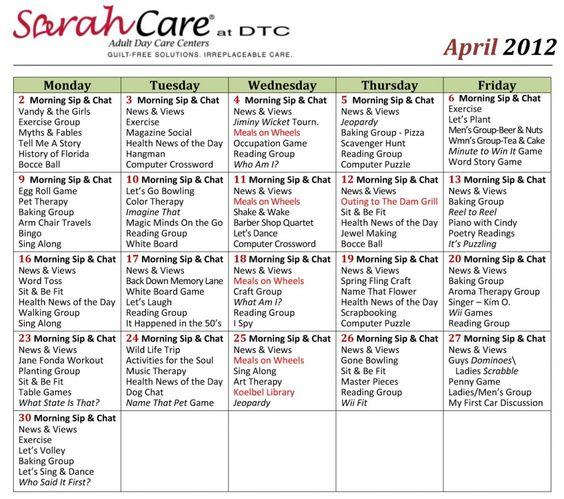 April Calendar Questions : Calendar and activities on pinterest