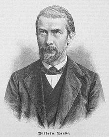 Wilhelm Raabe   (Pseudonym: Jakob Corvinus; * 8. September 1831 in Eschershausen; † 15. November 1910 in Braunschweig)