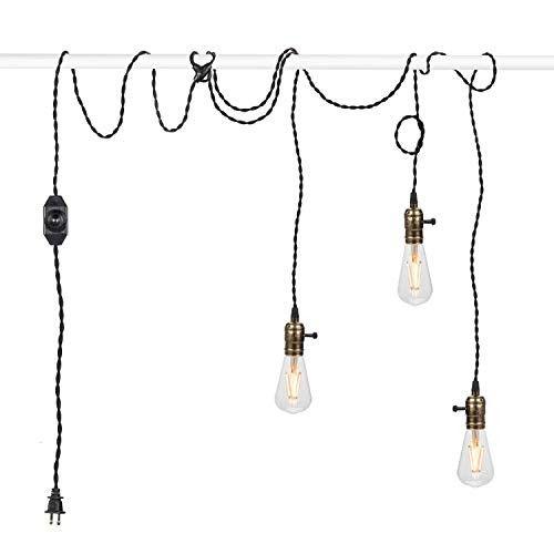 Vintage Pendant Light Kit Cord With, Vintage Lamp Holder Kit