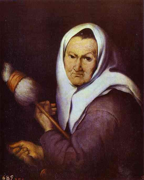 https://flic.kr/p/qyPm9Z | MURILLO, Bartolome Esteban - Old Woman with a Distaff