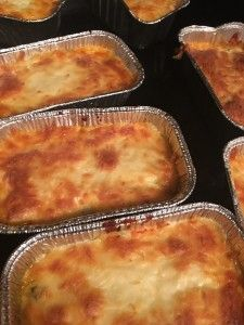 Individual Frozen Lasagna - THM Trim Healthy Mama  These.are.so good! You won't miss the noodles! Perfect for a low-carb diet or Trim Healthy Mamas. Husband says it's the best lasagna he's ever had (&I made pretty good lasagna pre-THM lol) MAKE IT TODAY MAMAS!!