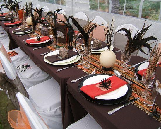 African Wedding Themes