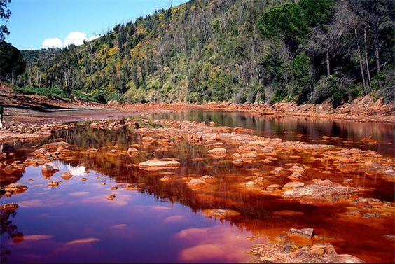 Parc Naturel de Río Tinto - Huelva (Espagne)