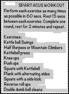 Spartacus Workout. LOVE THIS SHOW! Follow - A Neu You Fitness on Facebook @ www.facebook.com/ritchandracheal