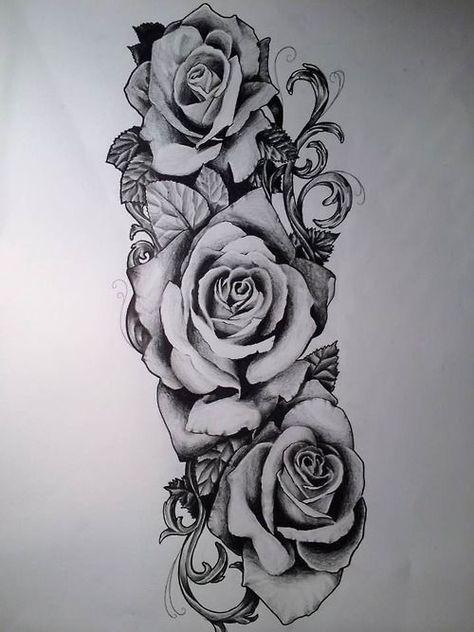 Image Result For Arm Tattoo Designs Tattoodesignsarm Rose Tattoos For Men Rose Tattoo Sleeve Rose Tattoos