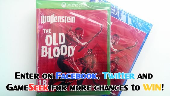 #Win a copy of Wolfenstein The Old Blood on #PS4 or #Xbox #One. Just click the picture and comment to enter :)