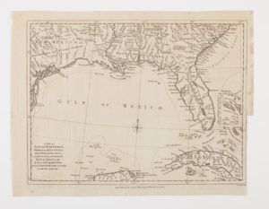 1. Map of East and West Florida, Georgia, and Louisiana, engraving by John Lodge (London, 1781). Courtesy of the American Antiquarian Society, Worcester, Massachusetts.