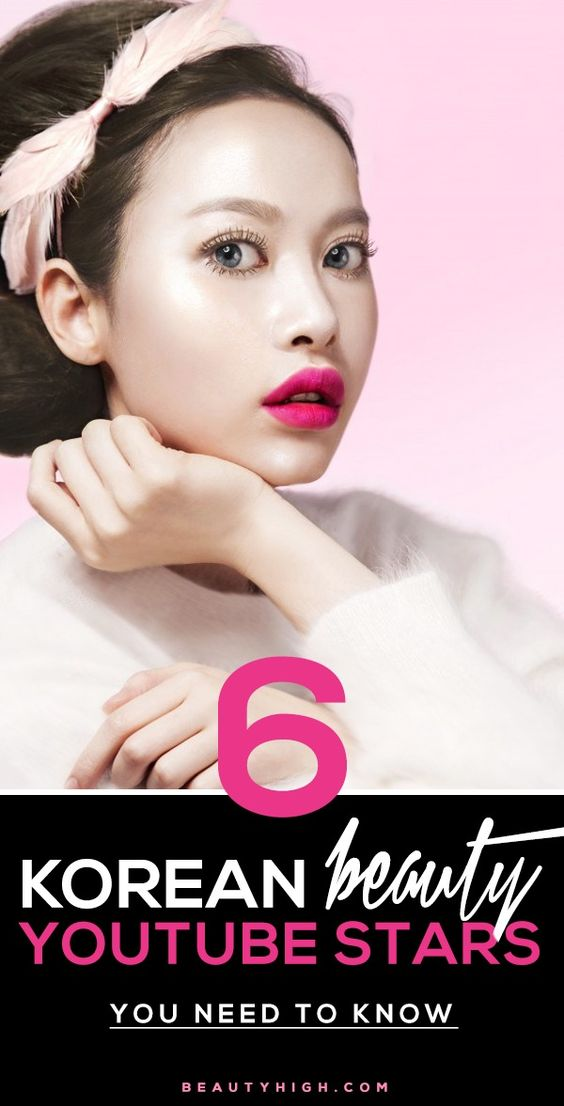 Youtube Makeup Tutorials Popular: Korean Beauty, Beauty And Youtube On Pinterest