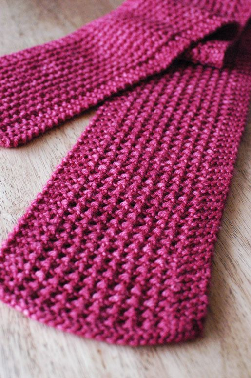 Knitting Stitch Patterns Easy : Soda fountain scarf pattern looks so easy knitting