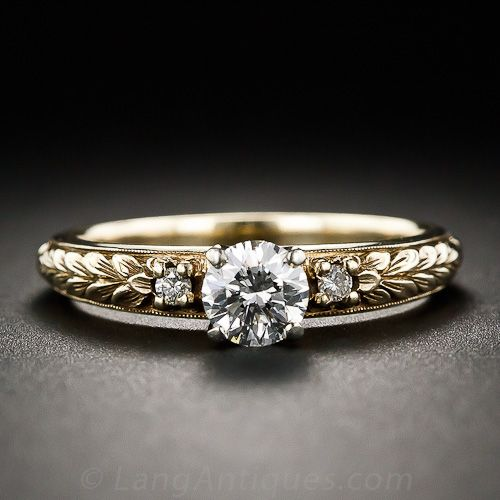 Van Craeynest .46 Carat Diamond Engagement Ring