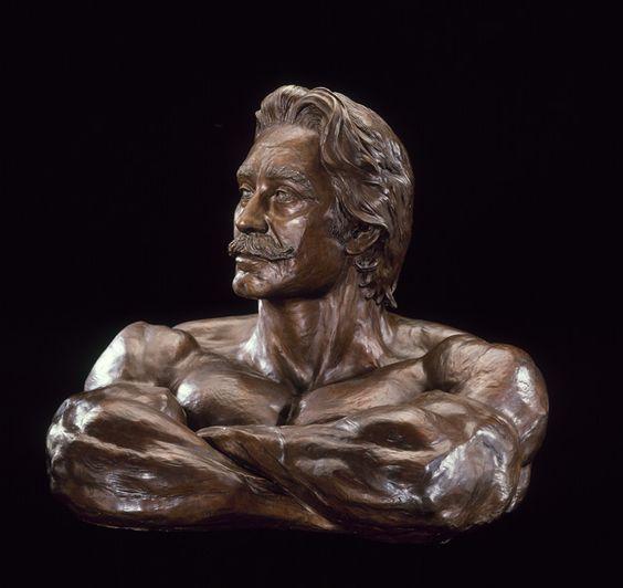 Joe Weider's Bust - beautiful                              …