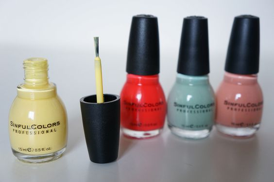 Sinfulcolors Sinful colors vernis test avis swatch