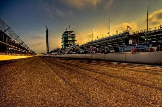 FANTASTIC shot of the Indianapolis Motor Speedway! We're all geared up for Race Day; are you ready?
