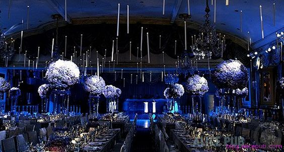 Starry Nights Midnight Blue And Midnight Blue Weddings On Pinterest
