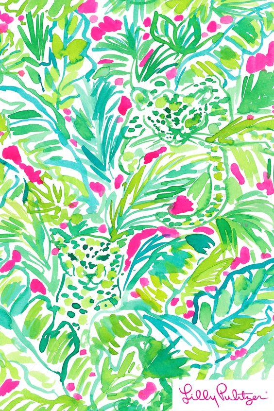 Palm Beach Jungle - Lilly Pulitzer x Starbucks 2017: