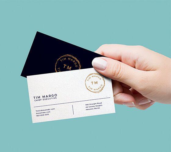 Imagem de cartões de visita por ahs code   modelos de. Mockup Cartao De Visita 26 Business Card Mock Up Business Cards Mockup Psd Free Business Card Mockup