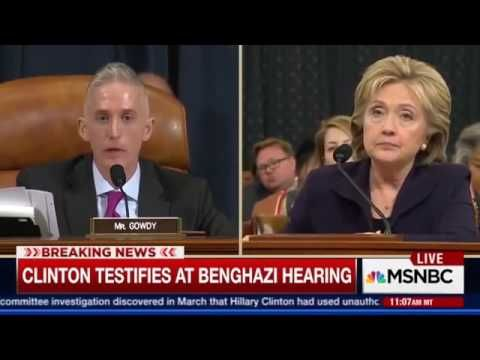 Trey Gowdy Peeks Into Hillary Clinton's Soul & Then Crushes It
