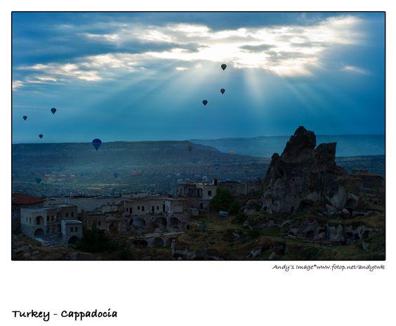 Hot Air Balloon Trip in Turkey
