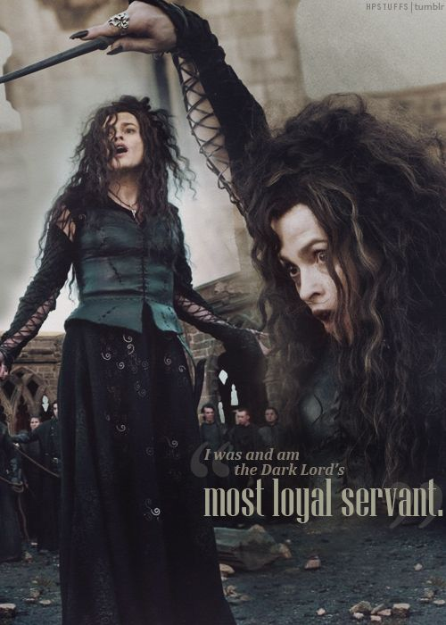 Bellatrix Lestrange  I swear I would marry her in a heartbeat