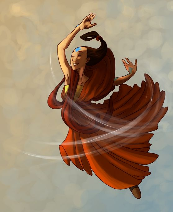 The Last Airbender Team Avatar: Avatar Yangchen. Who Says She Has To Be So Serious All The