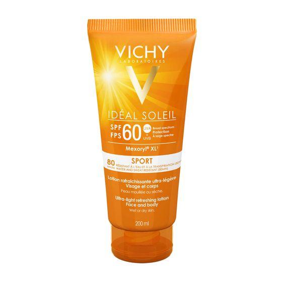 Vichy Idéal Soleil Sport Ultra-Light Refreshing Lotion (SPF 60)