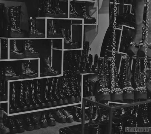 Boots everywhere