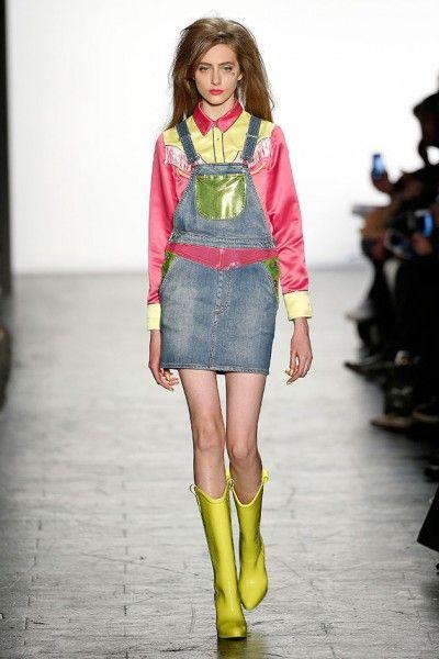 As principais tendências da New York Fashion Week 2016 - NYFW - Semana de Moda de Nova Iorque - cowboy - Jeremy Scott